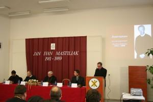 Die Konferenz bei der Gelegenheit des 20. Gedenktages   seines Todes
